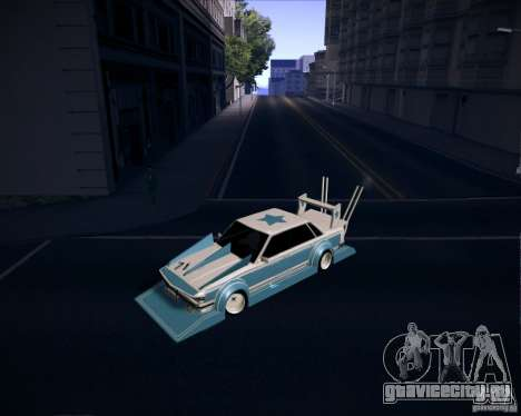 Toyota Cresta GX71 Bosozoku для GTA San Andreas