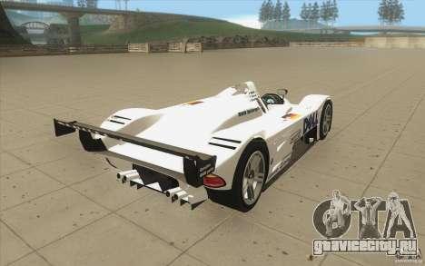 BMW V12 LeMans - Stock для GTA San Andreas вид сбоку