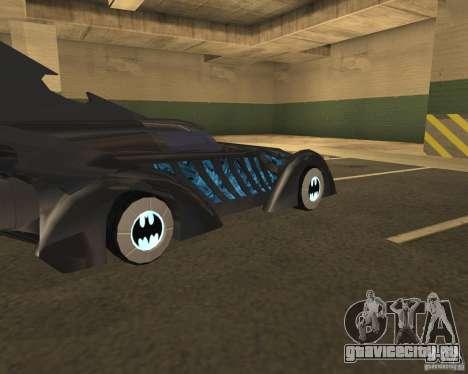Batmobile 1995 для GTA San Andreas вид справа