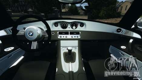 BMW Z8 2000 для GTA 4 вид сзади