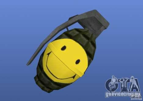 Smiley Granate для GTA 4 второй скриншот
