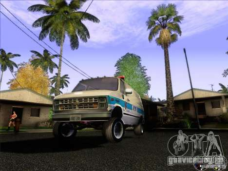Chevrolet VAN G20 NYPD SWAT для GTA San Andreas