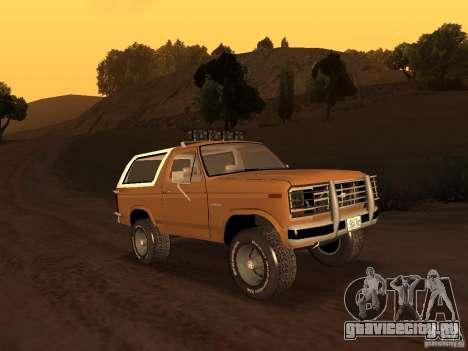 Ford Bronco 1985 для GTA San Andreas