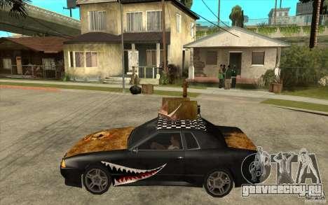 Elegy Rost Style для GTA San Andreas вид слева
