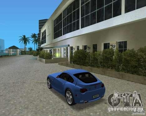BMW Z4 для GTA Vice City вид справа