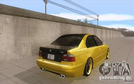 BMW M5 E39 - FnF4 для GTA San Andreas вид сбоку