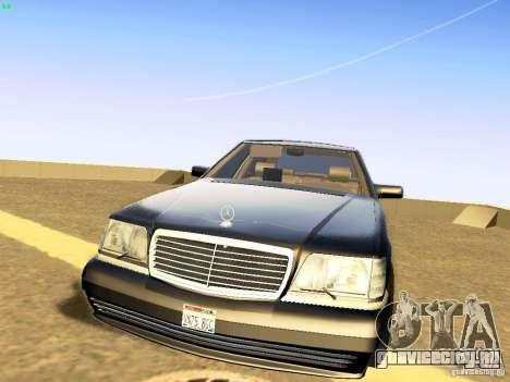 Mercedes-Benz S600 V12 для GTA San Andreas