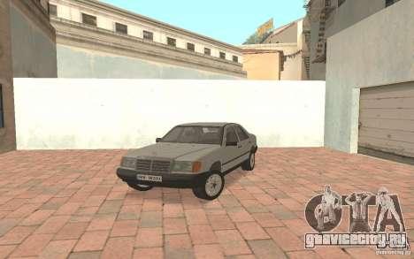 Mercedes-Benz E200 W124 для GTA San Andreas