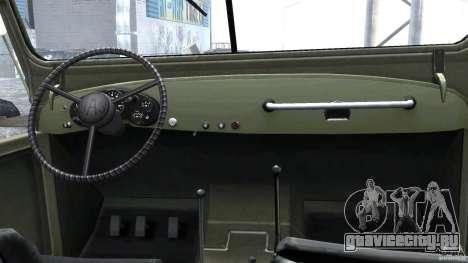 ГАЗ-69А 1965 для GTA 4 вид справа