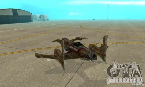 Hydra TimeShift Skin 1 для GTA San Andreas вид справа