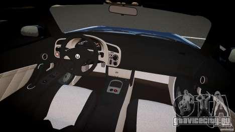 Honda S2000 v2 2002 для спокойной езды для GTA 4 вид справа