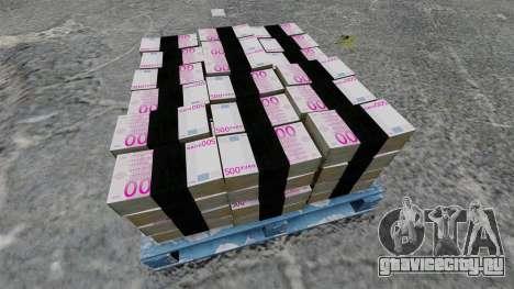 Евро банкноты для GTA 4