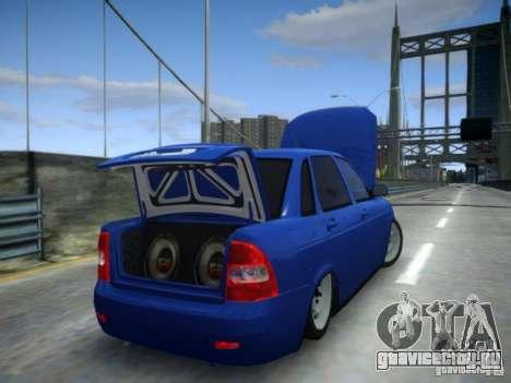 ВАЗ 2170 Приора для GTA 4 вид сверху