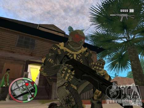 Сборник оружий Crysis 2 для GTA San Andreas восьмой скриншот