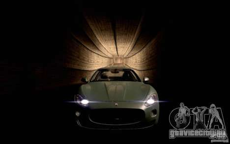 Maserati Gran Turismo 2008 для GTA San Andreas вид слева