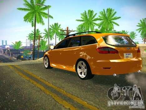 Ford Mondeo Sportbreak для GTA San Andreas вид сзади слева