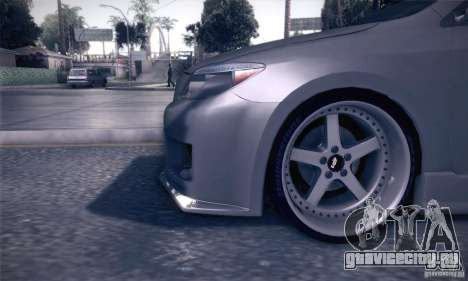 Scion Tc Street Tuning для GTA San Andreas вид сбоку