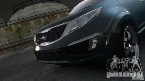 Kia Sportage 2010 v1.0 для GTA 4 вид сзади слева