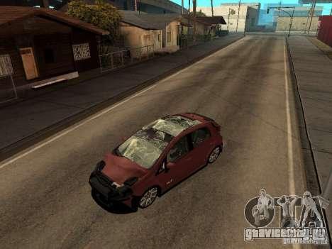 Fiat Punto T-Jet Edit для GTA San Andreas вид сзади слева