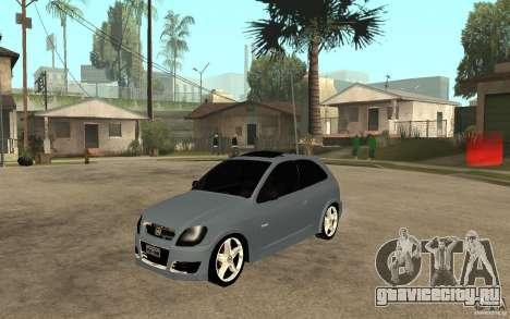 Chevrolet Celta VHC 2011 для GTA San Andreas