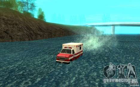 Ambulan boat для GTA San Andreas