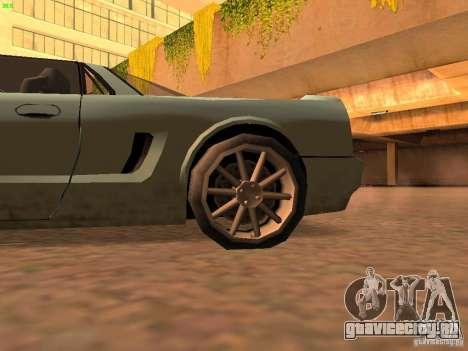 Infernus Revolution для GTA San Andreas вид сзади слева