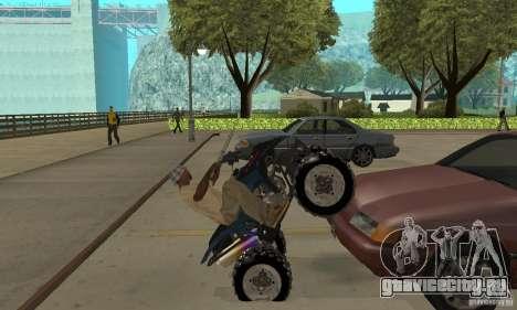 Honda Sportrax для GTA San Andreas вид справа