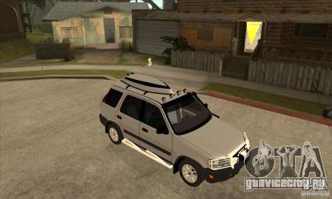 Honda CRV 1997 для GTA San Andreas вид сзади