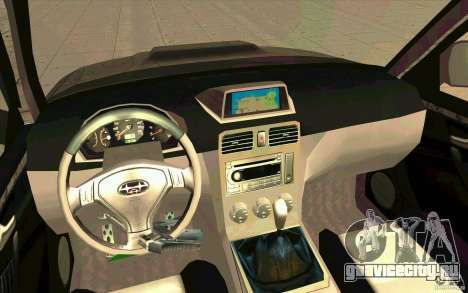 Subaru Forester Cross Sport 2005 для GTA San Andreas вид справа