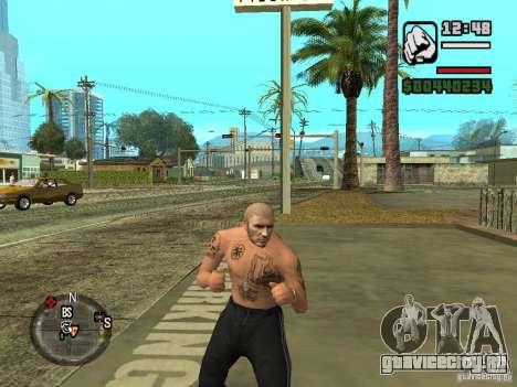 Блатные наколки для GTA San Andreas третий скриншот