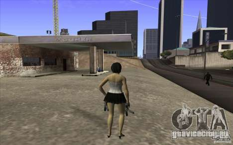 Kaileena big fan для GTA San Andreas третий скриншот