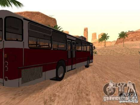 MAN SL200 Exclusive v.1.00 для GTA San Andreas вид сзади слева