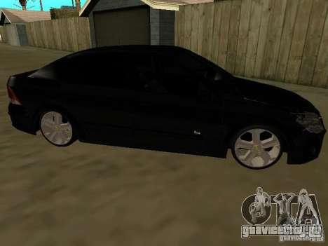Chevrolet Vectra Elite 2.0 для GTA San Andreas вид слева