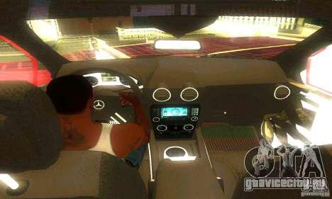 Mercedes-Benz ML500 для GTA San Andreas вид сзади