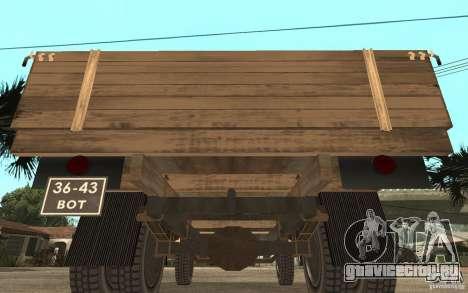 ГАЗ-52 для GTA San Andreas вид справа
