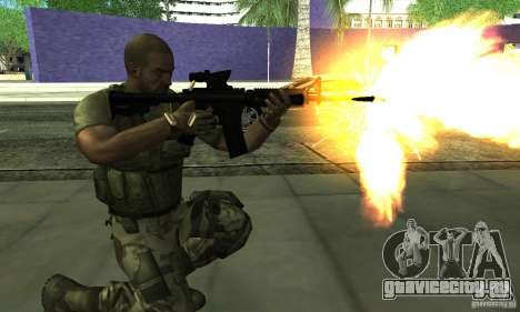 Sam Fisher Army SCDA для GTA San Andreas третий скриншот