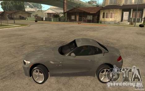BMW Z4 sdrive35is 2011 для GTA San Andreas вид слева