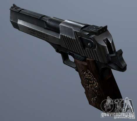 Desert Eagle - Old model для GTA San Andreas
