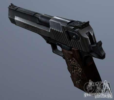 Desert Eagle - Old model для GTA San Andreas