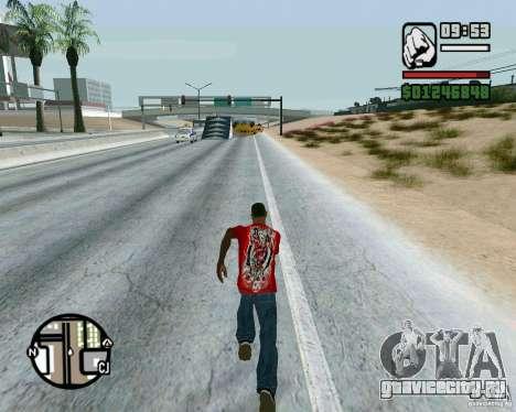 Трамплины на шоссе в Лас Вентурасе для GTA San Andreas третий скриншот