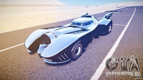 Batmobile v1.0 для GTA 4 вид слева