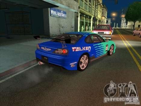 Nissan Silvia S15 Tunable KIT C1 - TOP SECRET для GTA San Andreas вид сбоку