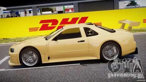 Nissan Skyline R34 v1.0 для GTA 4 вид слева
