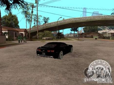 Chevrolet Camaro Concept для GTA San Andreas вид сзади слева