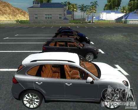 Porsche Cayenne 958 v1.1 для GTA San Andreas вид справа