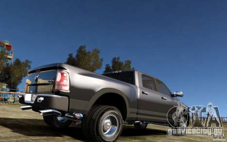 Dodge Ram 3500 Stock Final для GTA 4 вид справа