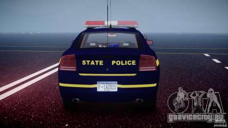 Dodge Charger NY State Trooper CHGR-V2.1M [ELS] для GTA 4 двигатель
