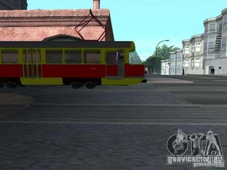 Татра Т3SU для GTA San Andreas вид сзади