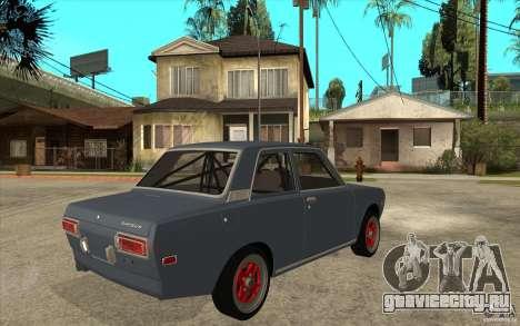 Datsun 510 JDM Style для GTA San Andreas вид справа