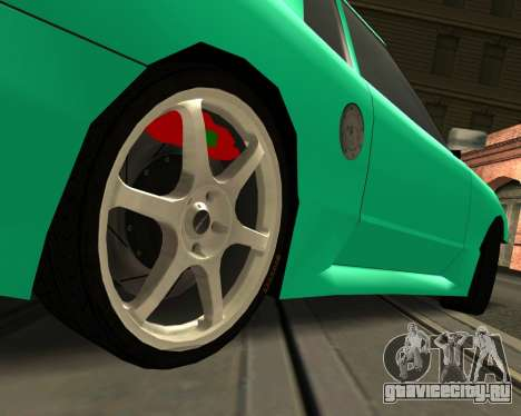 Elegy Piu для GTA San Andreas вид справа